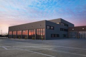 Anbau Flughafen Feuerwache 2 | Bestand & Anbau