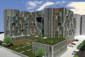 Umnutzung Bürogebäude zu Wohnraum | Bestand & Anbau