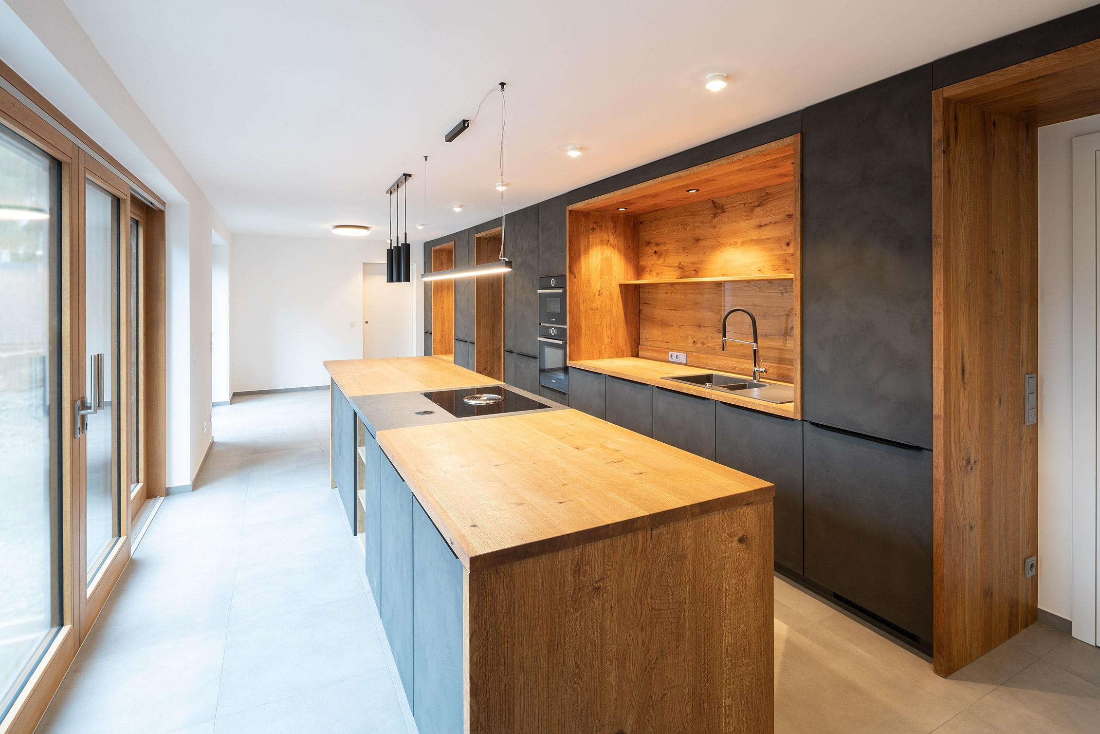 Einfamilienhaus mit Praxis Küche