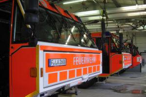 Sanierung Flughafenfeuerwache | Bestand & Anbau