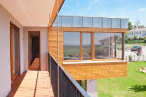 Haus mit Taunusblick Balkon