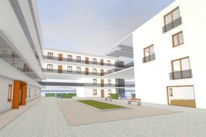 Mehrgenerationen-Wohnhaus mit Jugendzentrum | Architektur & Neubau