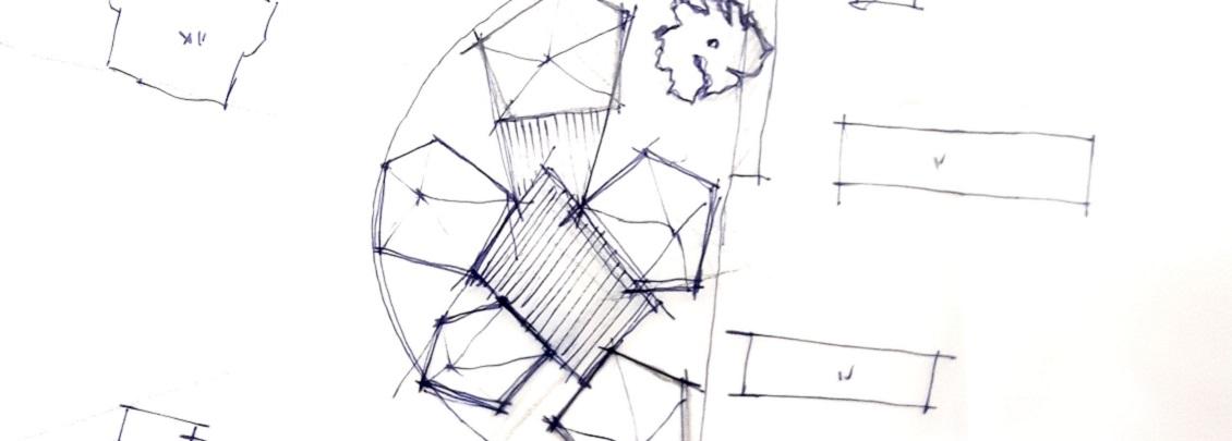 Mehrgenerationen Wohnhaus Maintal Skizze Anordnung