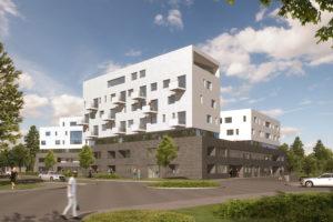 Mehrgenerationenhaus Licoln Areal Darmstadt | Architektur & Neubau