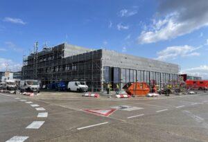 Baustelle Neubau Feuerwache 2
