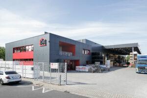Neubau Verwaltungsbau und Lagerhalle gesamt